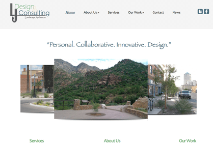 LJ Design Website