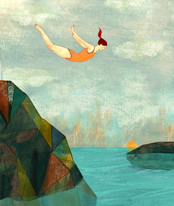 High Dives and Six Year Olds – Lessons On Fear