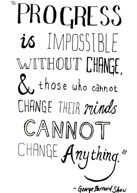 Progress is…{Inspirational Image Friday}