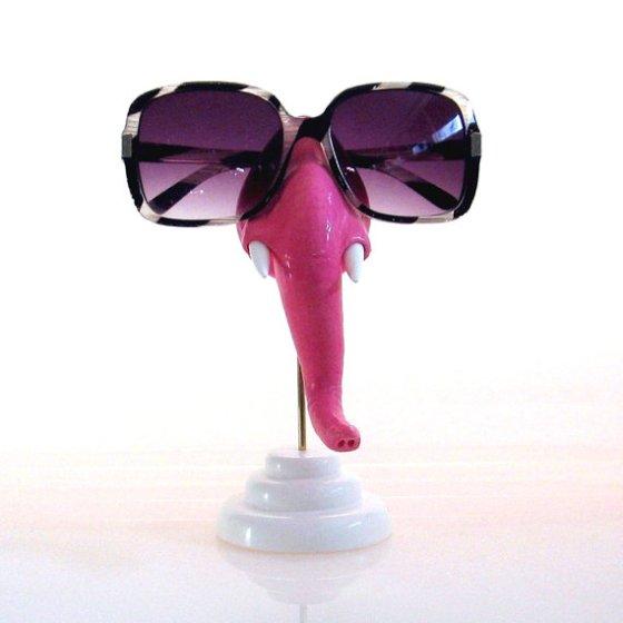 Elephant Sunglass Holder by ArtAKimbo