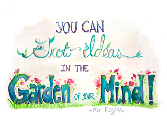 Grow Ideas In The Garden Of Your Mind – Guest Post at Oh My! Handmade