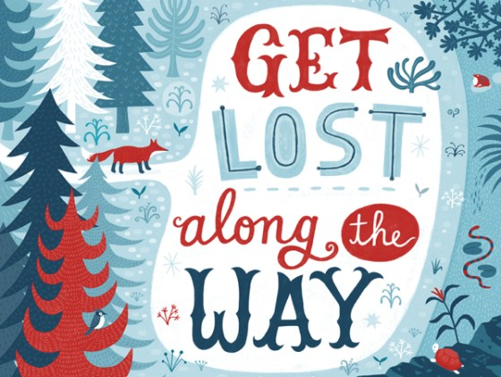 Get Lost Along The Way by Linzie Hunter