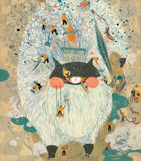 Grooming Day by Victo Ngai