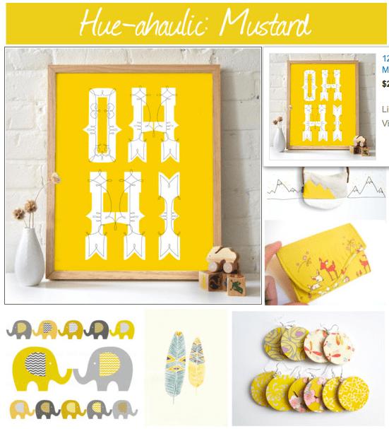 Hue-ahaulic: Mustard
