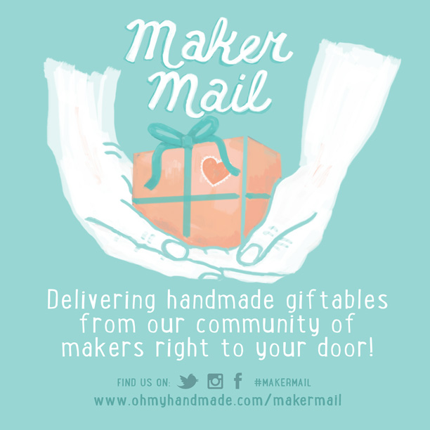 Maker Mail Illustrations