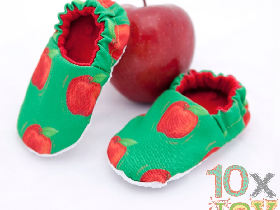 Apple Baby Shoes for March 10xJOY