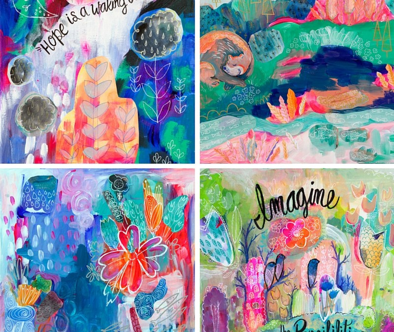 Landscapes of A Blossoming Mind