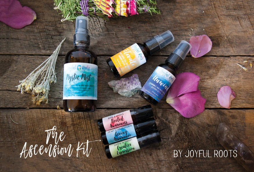 The Ascension Kit Herbal Skincare To Ascend your mind body and spirit