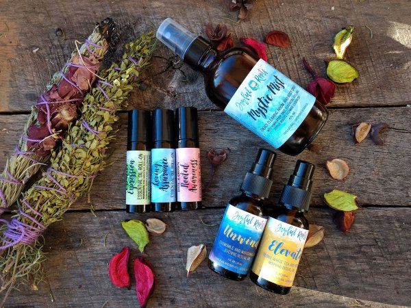 Ascension Kit Botanical Wellness Spiritual Skincare Green Beauty