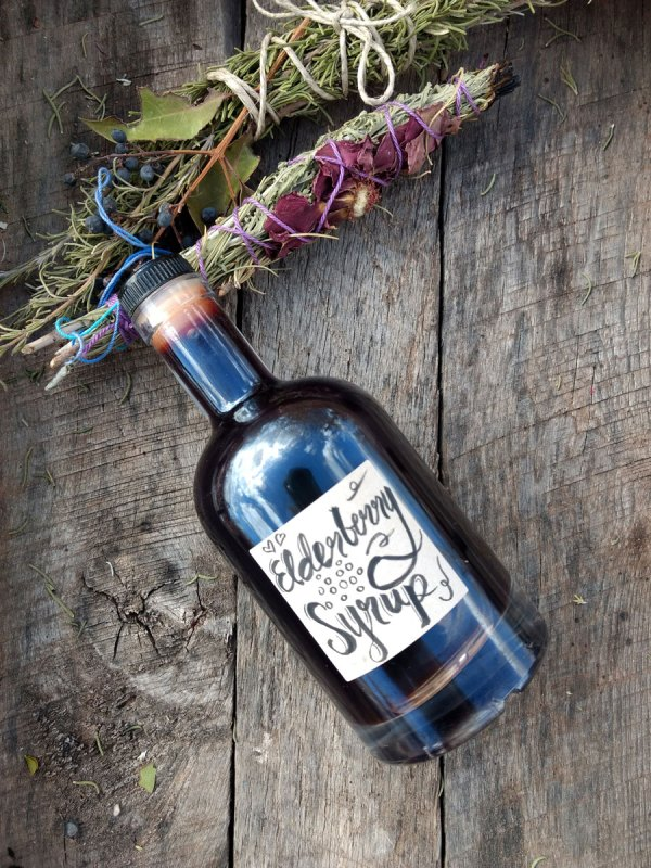 Elderberry Syrup Immune Boosting Recipes and Video