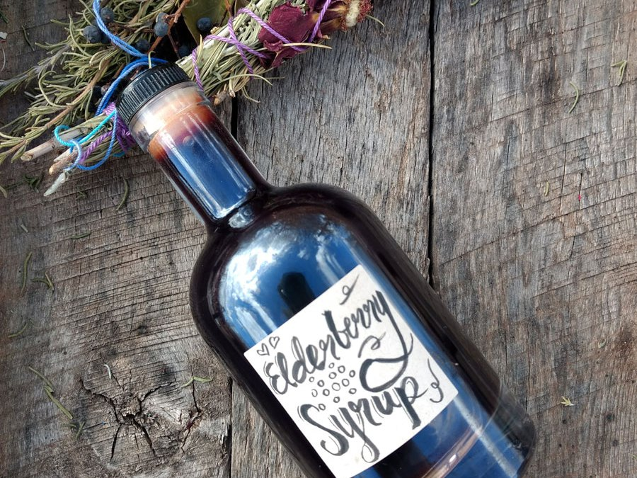 ELDERBERRY SYRUP: A RECIPE AND VIDEO TUTORIAL