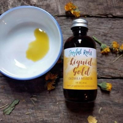 Calendula Oil - Calendula Officianalis Infused Herbal Oil