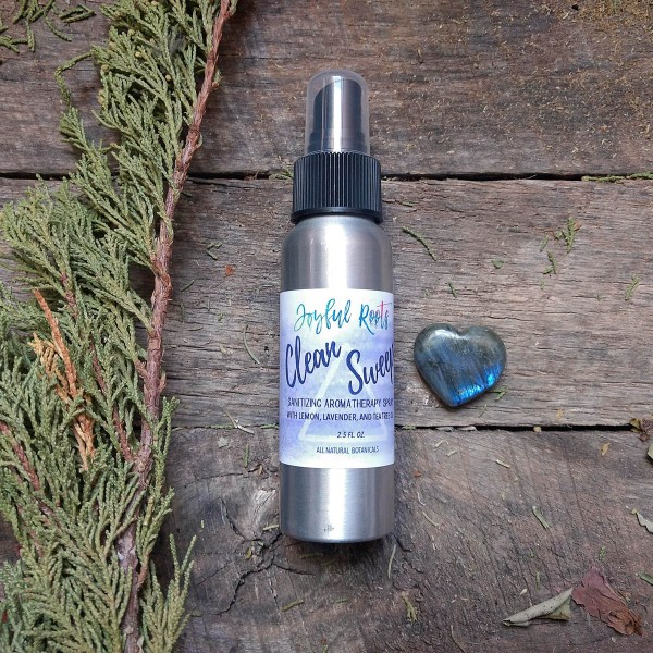 Clean Sweep Sanitizing Spray All Natural
