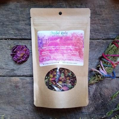 Flowering Heart Summer Cooler Tea Sweet Red Tea