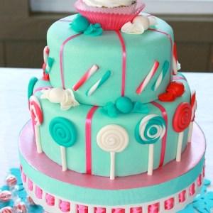 #sweet 13 theme cake