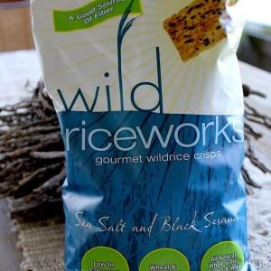#wild riceworks crackers