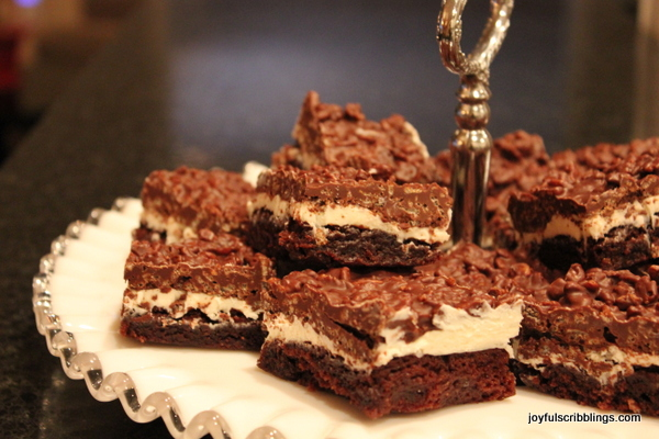 Brownie-Goody Bars