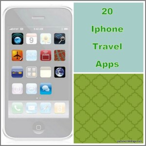 20 IPhone Travel Apps
