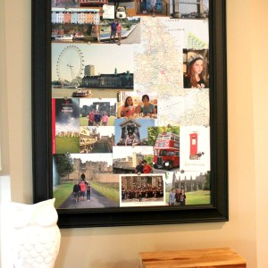 #travel memorabilia board