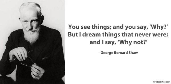 #George Bernard Shaw quote