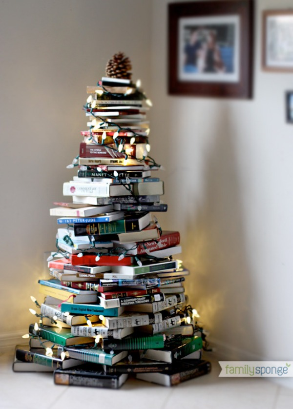 Six Non-Traditional Christmas Trees - JOYFUL scribblings