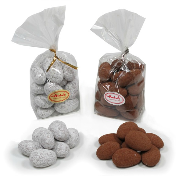 #Andre's chocolate covered almonds