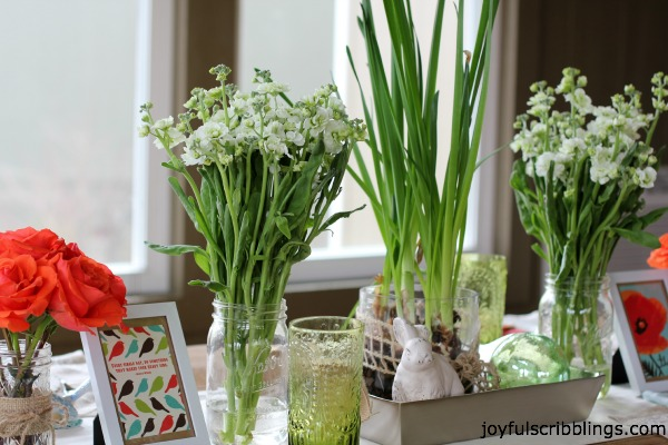 #spring tablescape