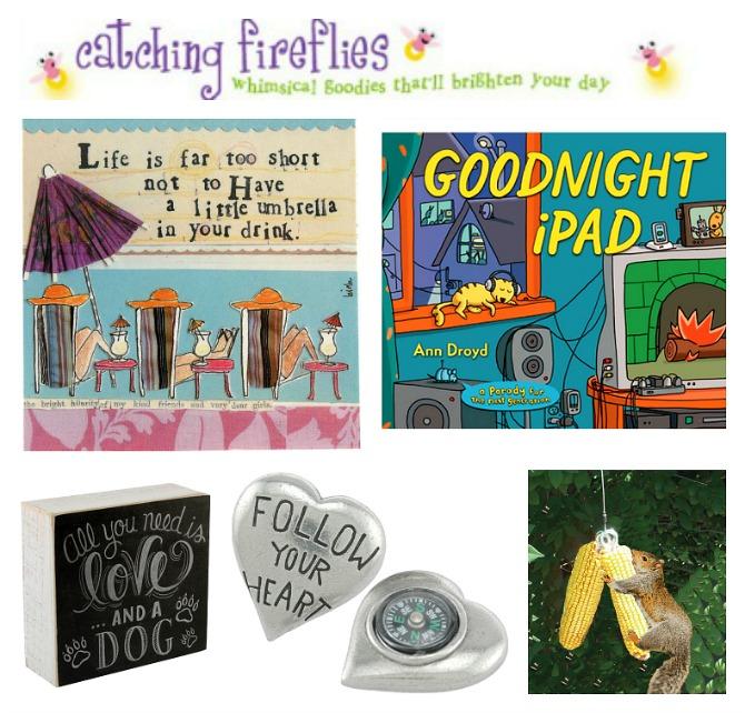 Catching fireflies gifts