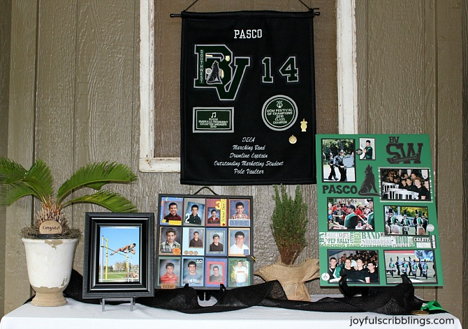 #graduation display