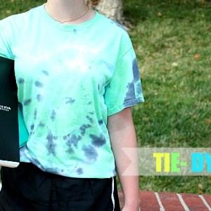 Tie-Dye Back to School spirit wear