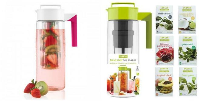 Takekya water and tea pitchers
