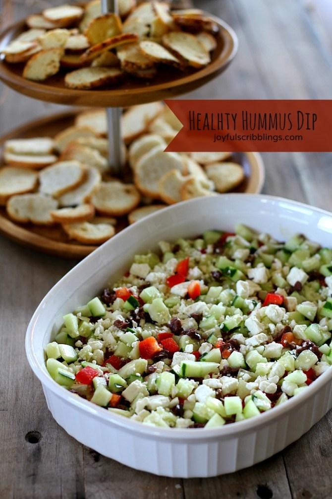 healthy hummus dip