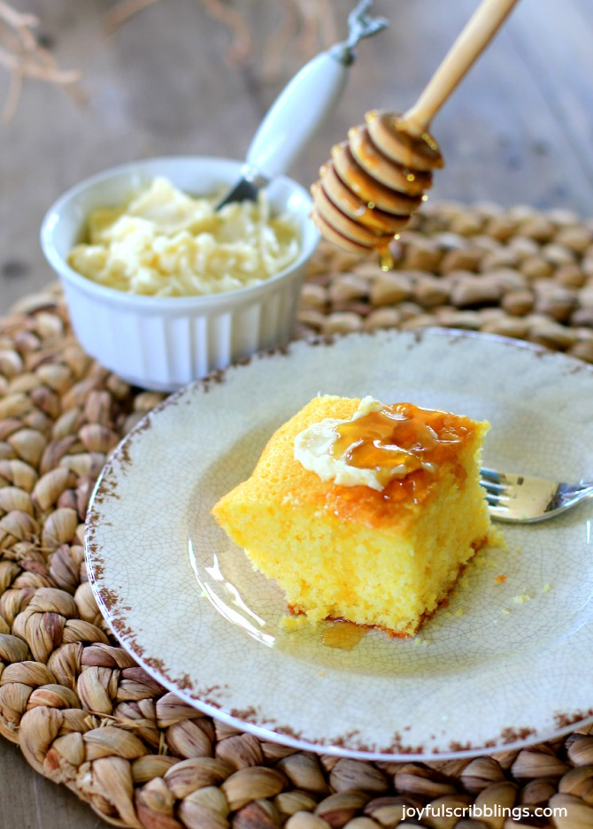 Tippins corn bread recipe