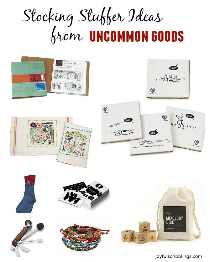Stocking Stuffer Ideas from Uncommon Goods