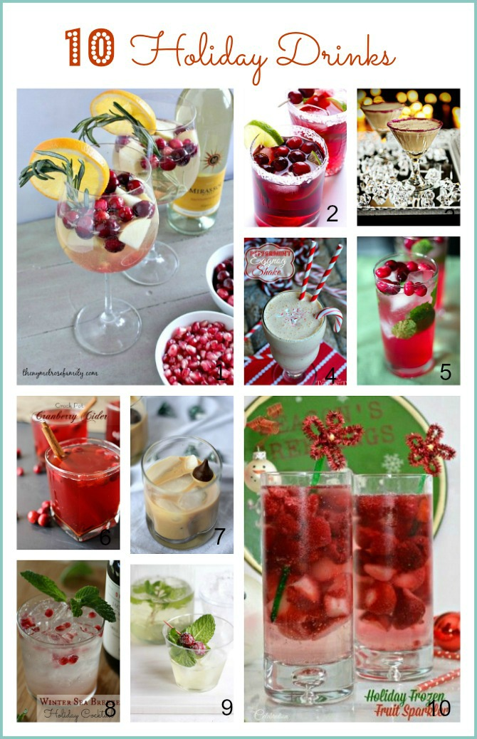 10 Holiday Drinks