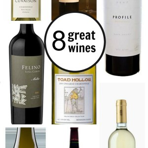 8 great wines