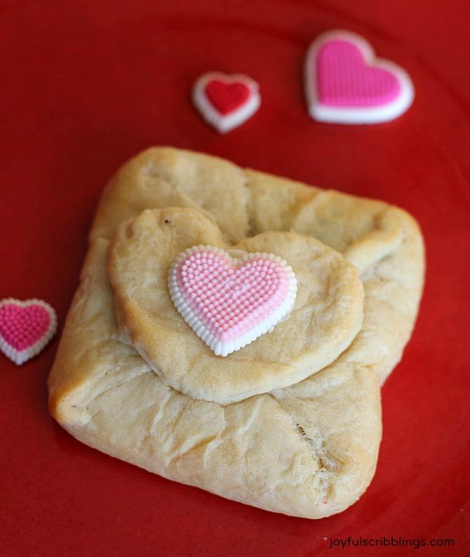Valentine's Day Oreo Croissant Envelope 2