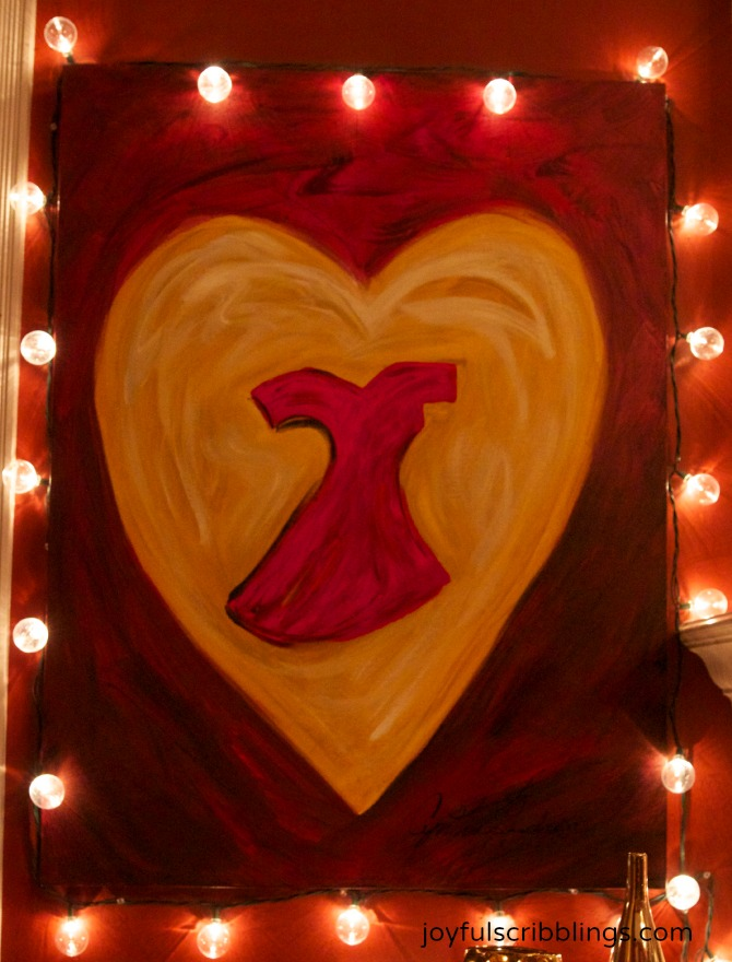 American Heart Association Painting