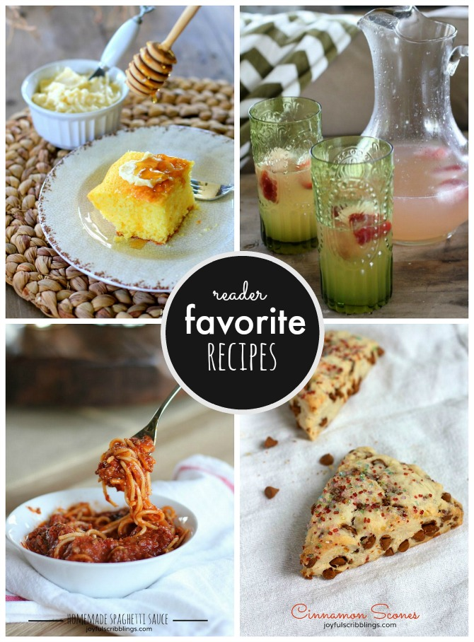 reader favorite recipes