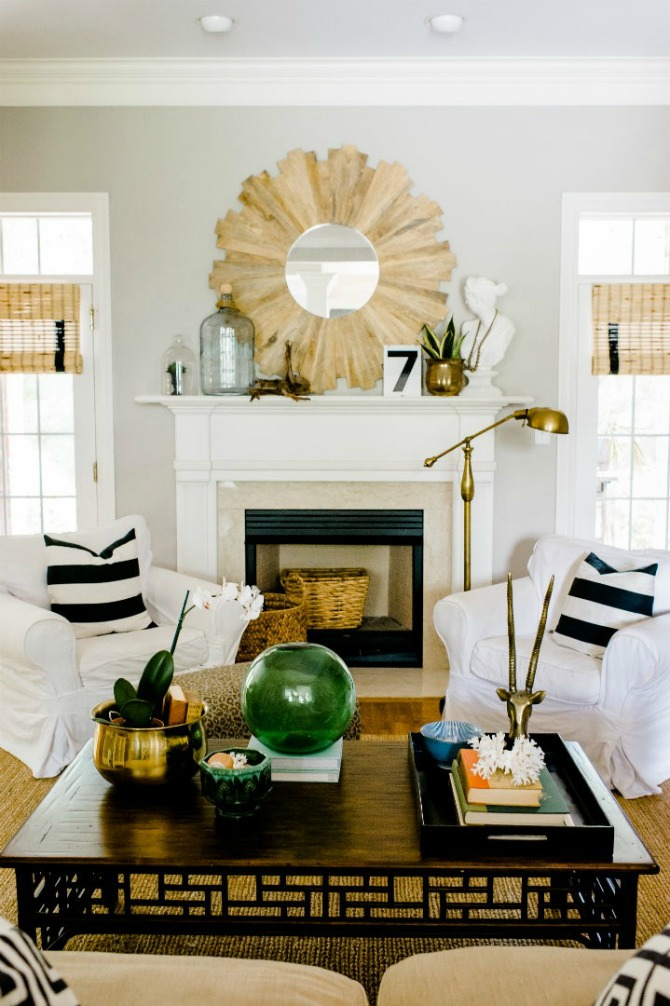 gold in home decor