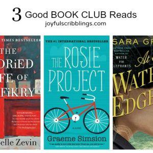 3 Good Book Club Reads