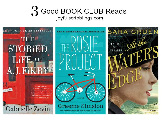 3 Good Book Club Reads