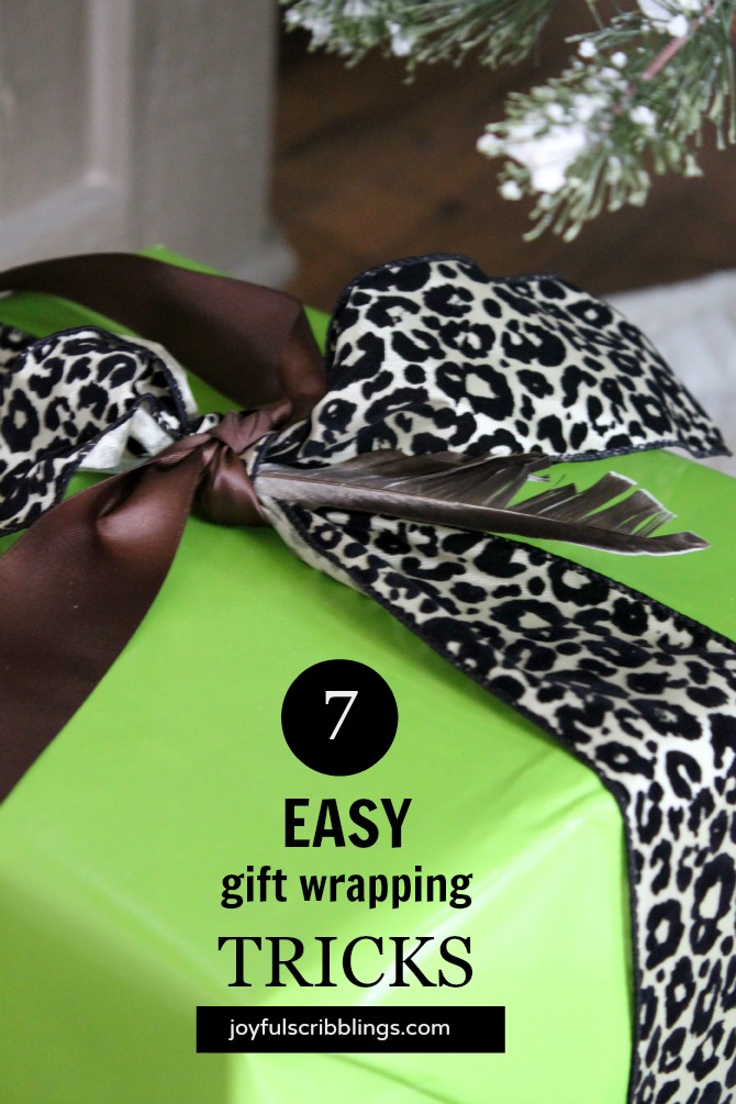 7 Easy Gift Wrapping Tricks