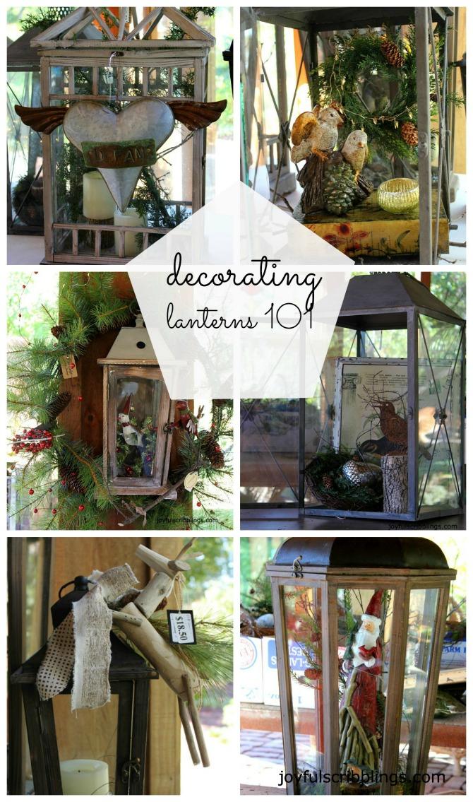 decorating lanterns