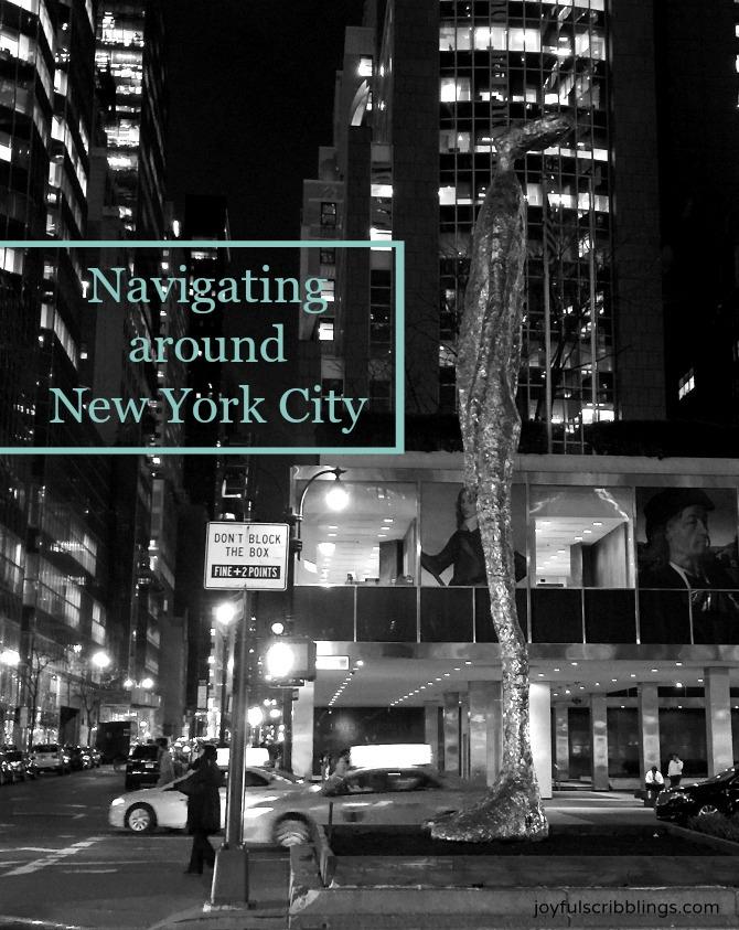 Navigating Around New York City