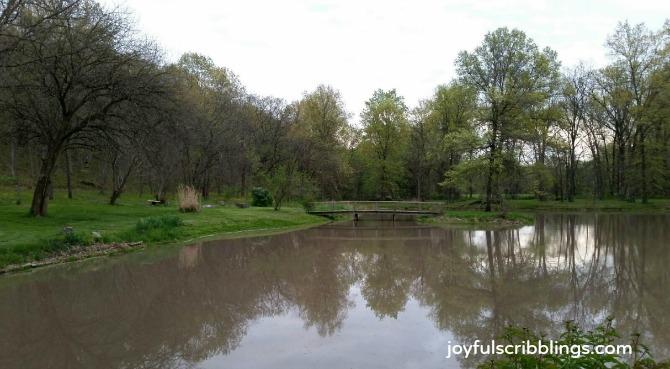 farmhouse pond