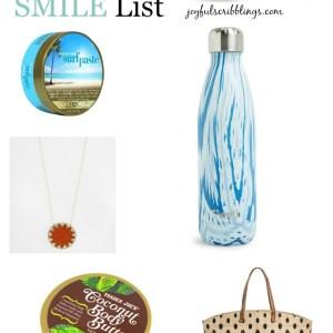 Summer Smile List