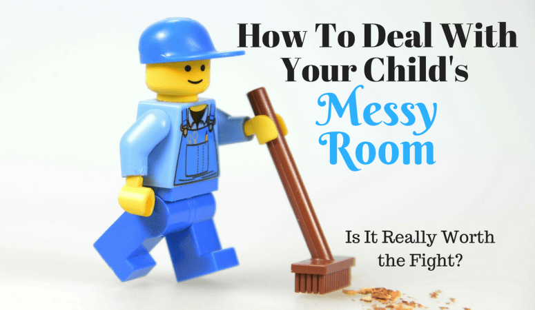How to Deal With Your Child's Messy Room