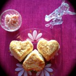Hardtack to Hearts with Valentine Biscuits and Strawberry Butter