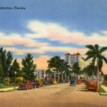 Welcome to Bradenton, postcard from Florida Archives Collection.